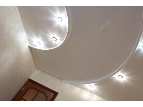 Подвесные потолки — это система из